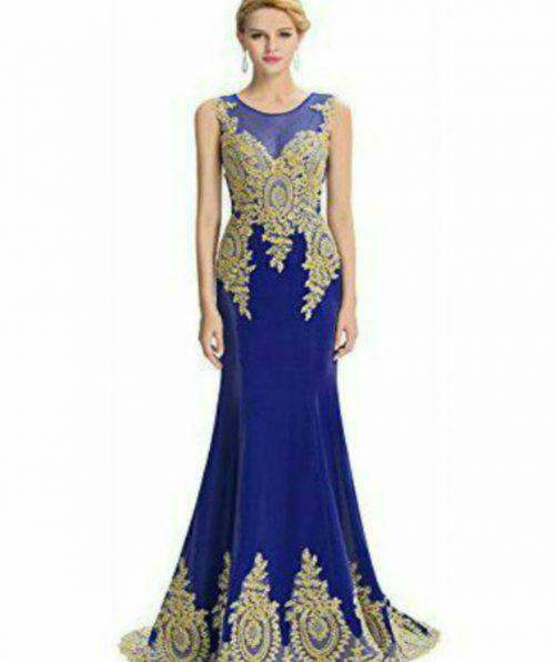 Strapless-Long-Dresses-bleu