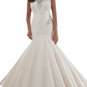 Tulle Bridal Dresses Mermaid Wedding Dress