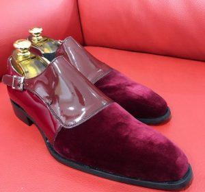 Formal zone semi dain shoes buckle