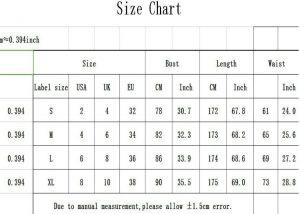 Slim Long Dress Backless Evening Chart