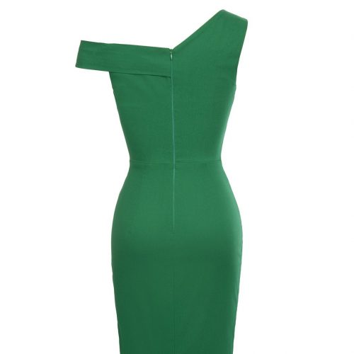 Pencil sexy stretch dress from rockabilly dress back