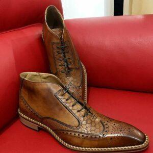 Italian Boots calu brown