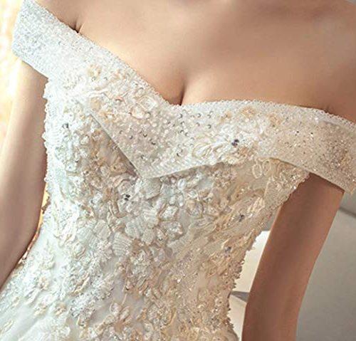 Vestito da sposa coda lunga 3