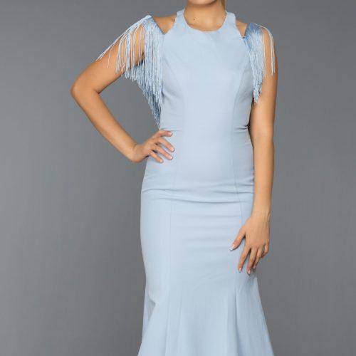 Long Abi Evening Dress