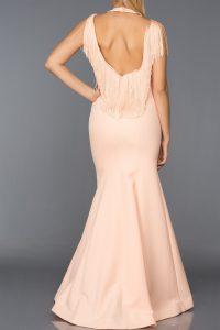 Long Abi Powder Evening Dress 1